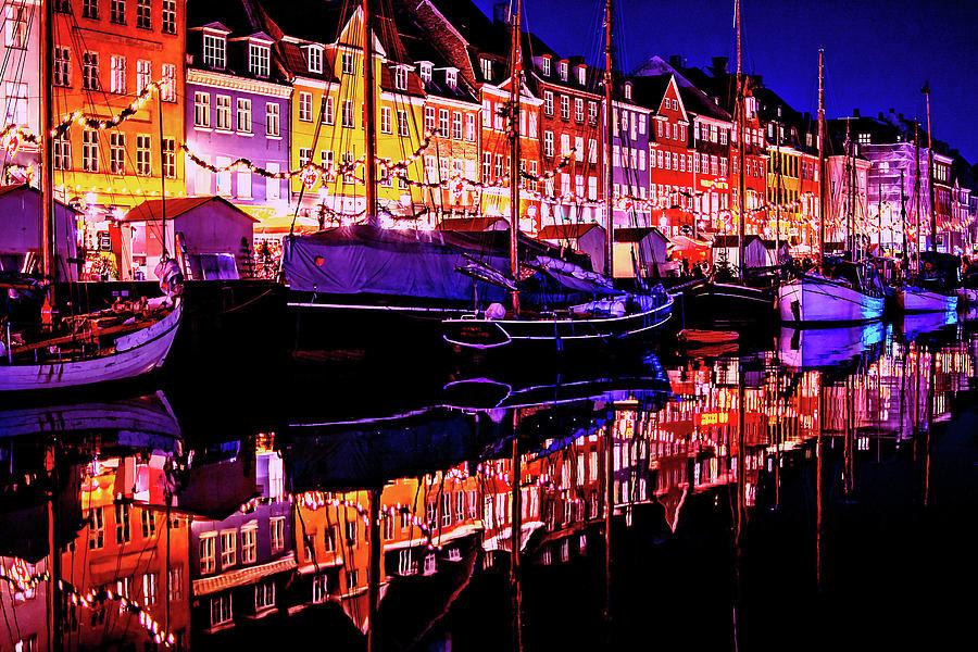 Nyhavn Harbor Copenhagen by Susan Maxwell Schmidt