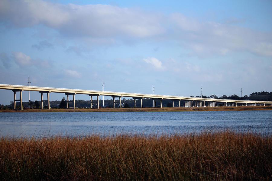 Oak Island Bridge by Cynthia Guinn