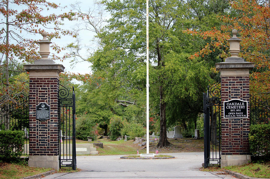 Oakdale Entrance Gates by Cynthia Guinn