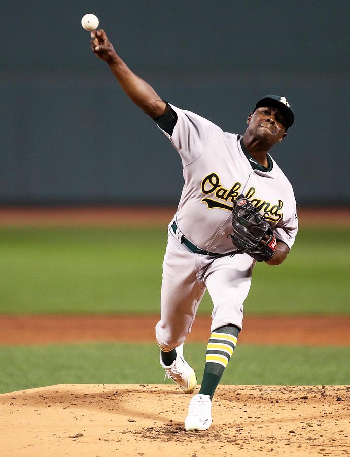 Oakland Athletics v Boston Red Sox Photograph by Maddie Meyer