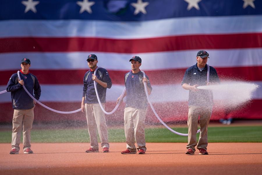 Oakland Athletics v Boston Red Sox Photograph by Rich Gagnon