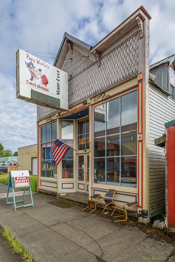 Oakville Old Stores 02 Photograph