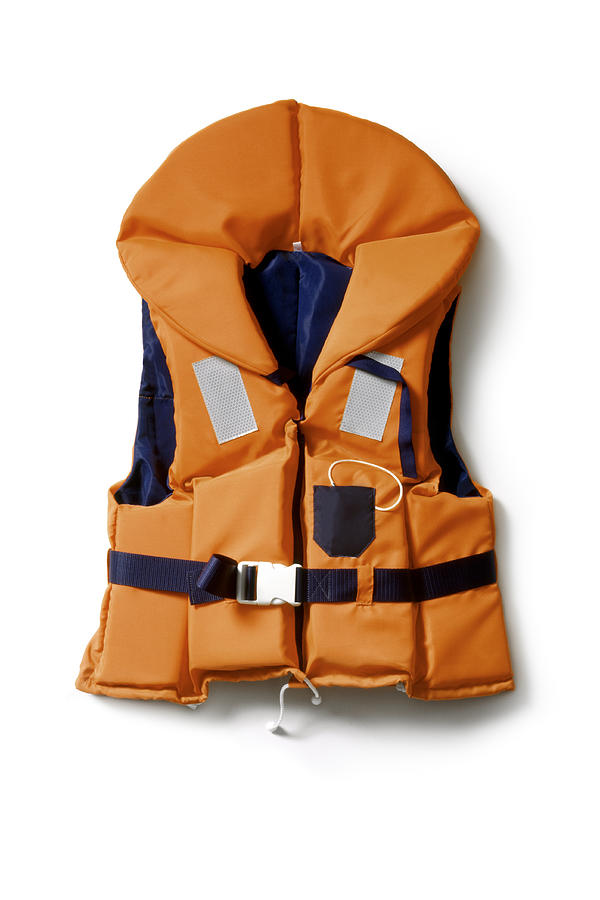 Objects: Life Vest Photograph by Floortje