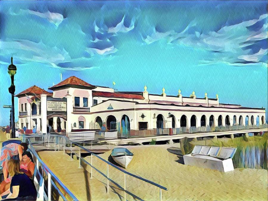 Ocean City Music Pier Digital Art