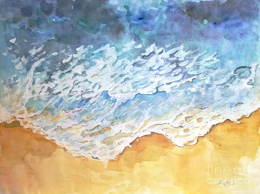 Ocean Painting - Ocean 2018 by AQQ Studio
