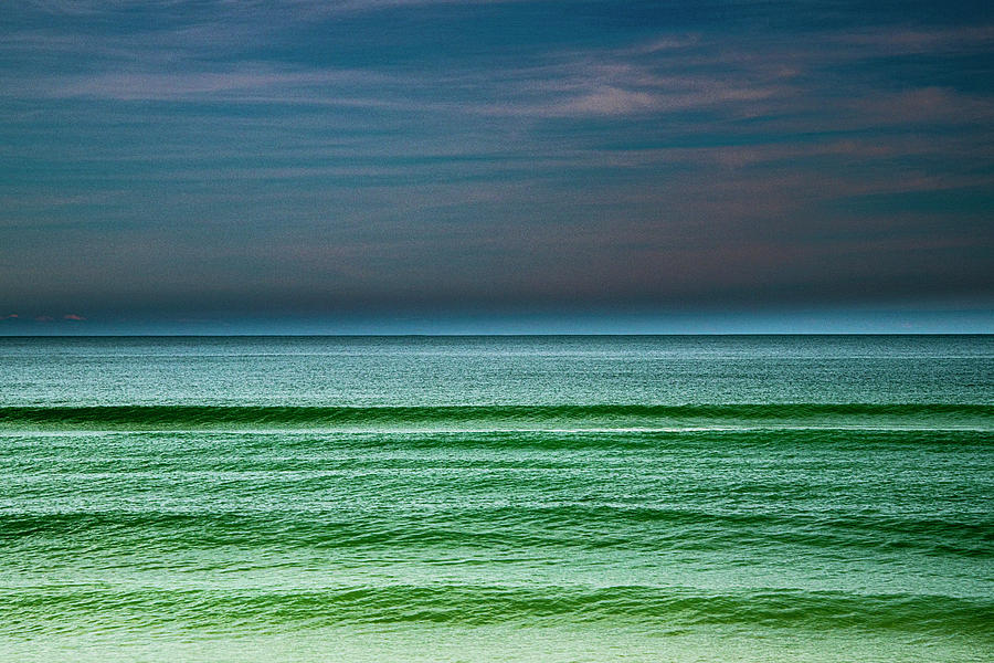 Ocean Abstract by Philip Rispin