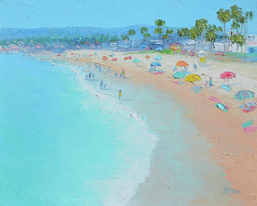 Ocean Beach Painting - Ocean Beach, San Diego, California by Jan Matson