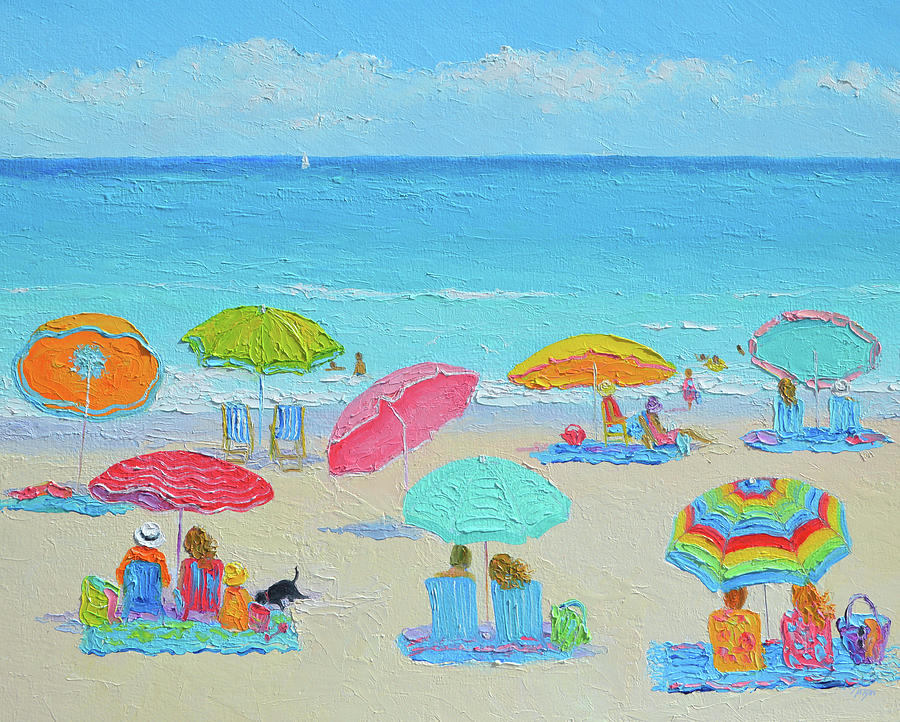 Ocean Breeze Puts You At Ease Painting