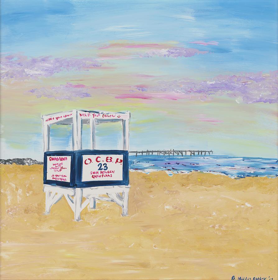 Ocean City Painting - Ocean City by Britt Miller