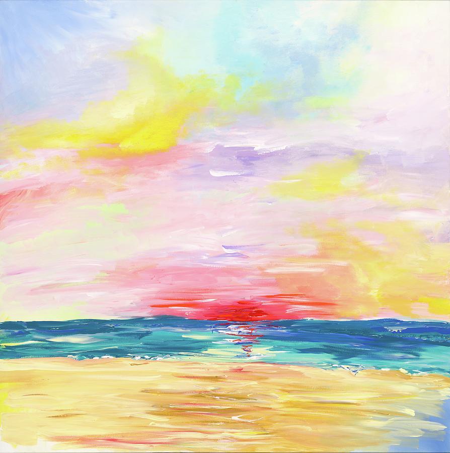 Sunrise Painting - Ocean City Sunrise by Britt Miller