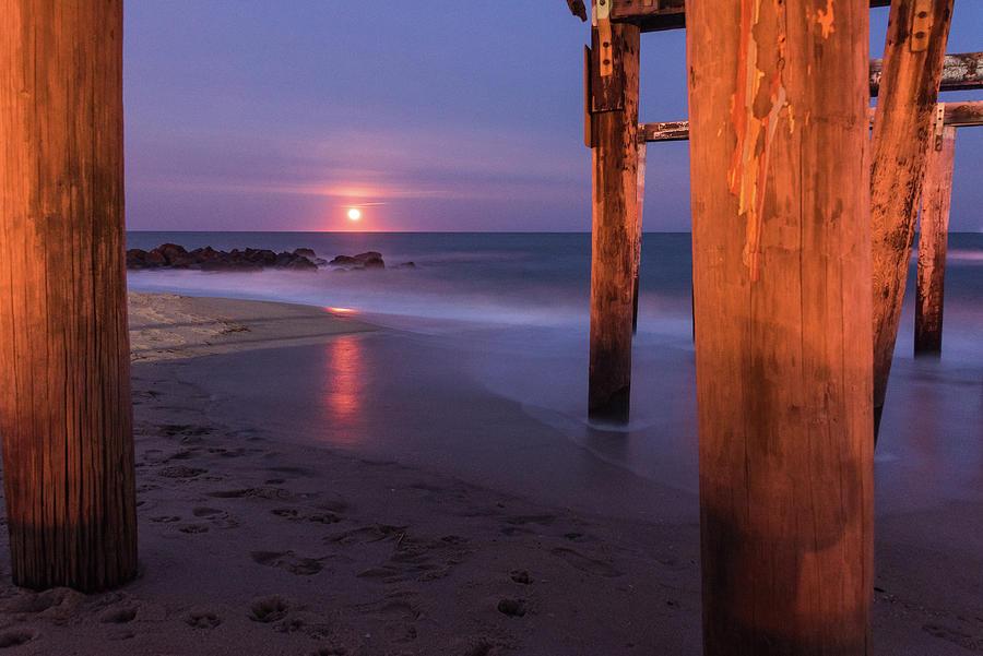 Ocean Grove Photograph - Ocean Glow by Kristopher Schoenleber
