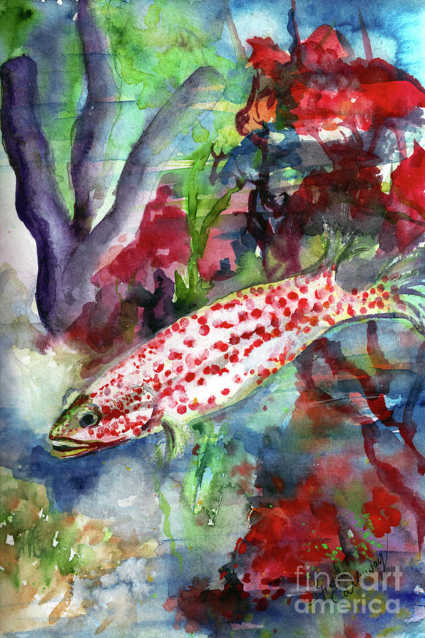 Ocean Life is Beautiful Painting by Ginette Callaway