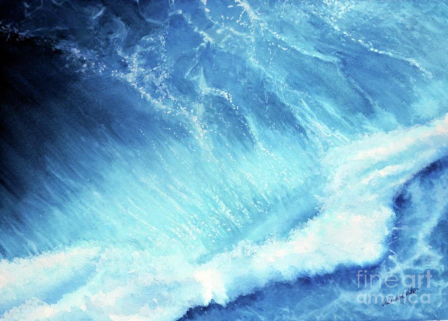 Ocean Roar Painting