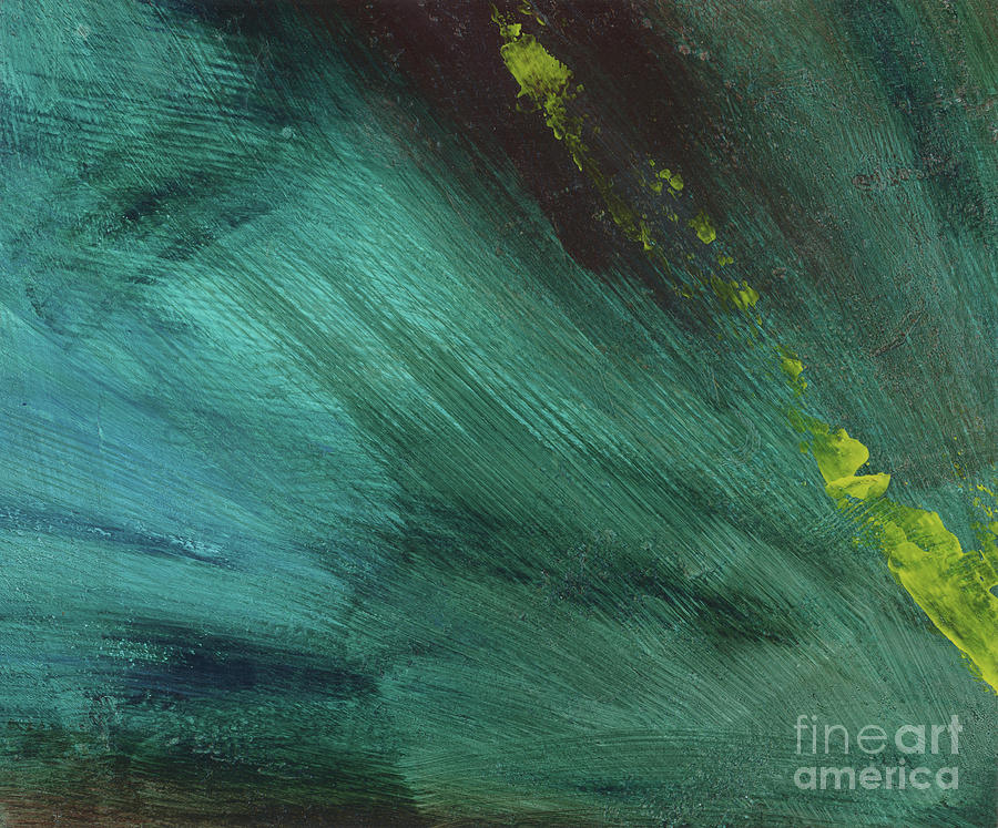 Abstract Painting - Ocean Spray Abstract by Brandy Woods