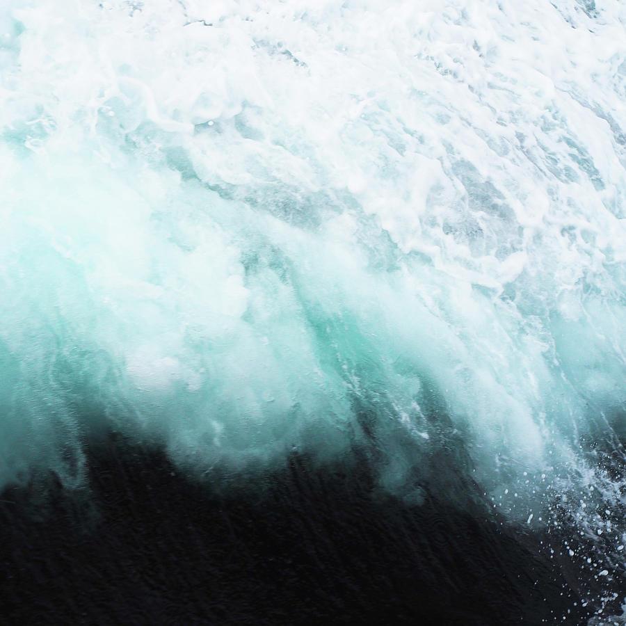 Ocean Photograph - Ocean Spray by Cassia Beck