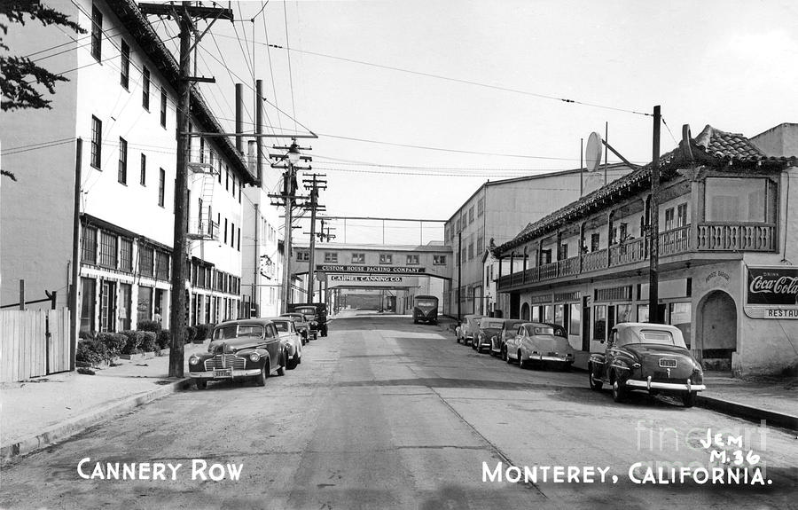 Ocean View Avenue  looking Southeast between Prescott and Hoffman avenues by California Views Archives Mr Pat Hathaway Archives