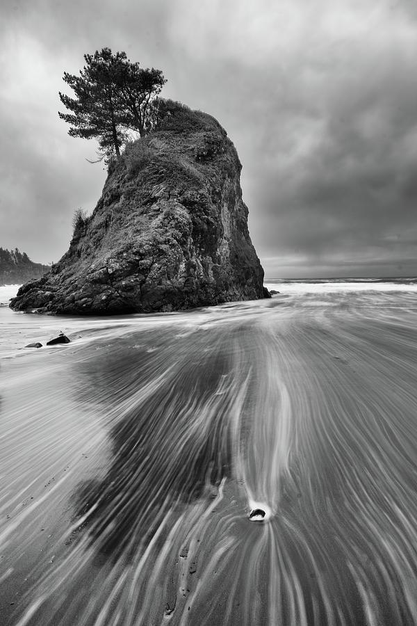 Oceans Gentle Slide Photograph