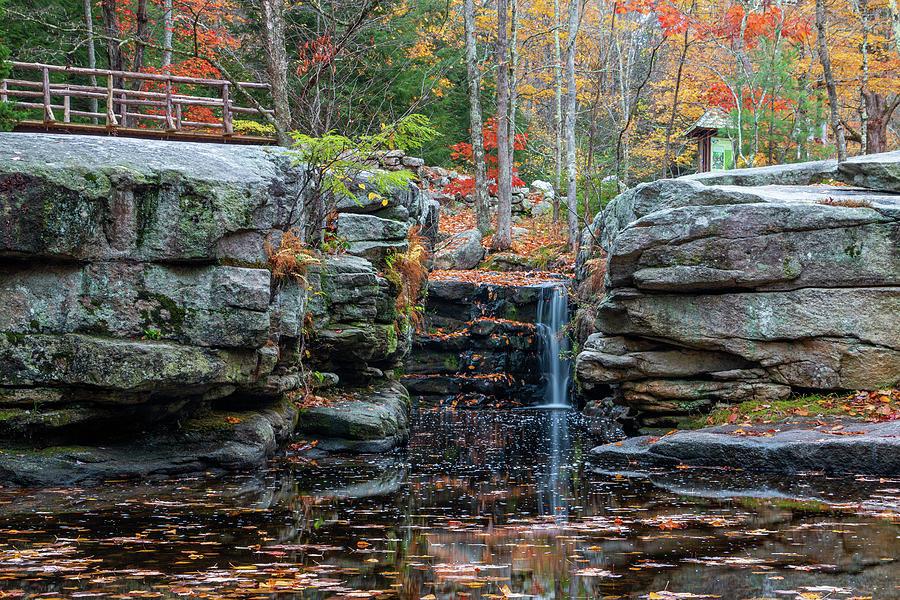 Hudson Valley Photograph - October Morning at Split Rock by Jeff Severson