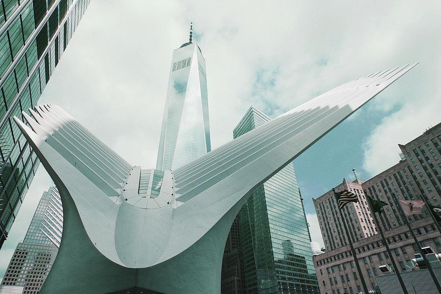 Oculus, Nyc Skyline, New York, United States - Surreal Art By Ahmet Asar Digital Art