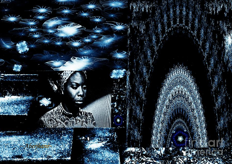 Singers Mixed Media - Ode to the Genius and Good Intentions of Nina Simone Number 2 by Aberjhani