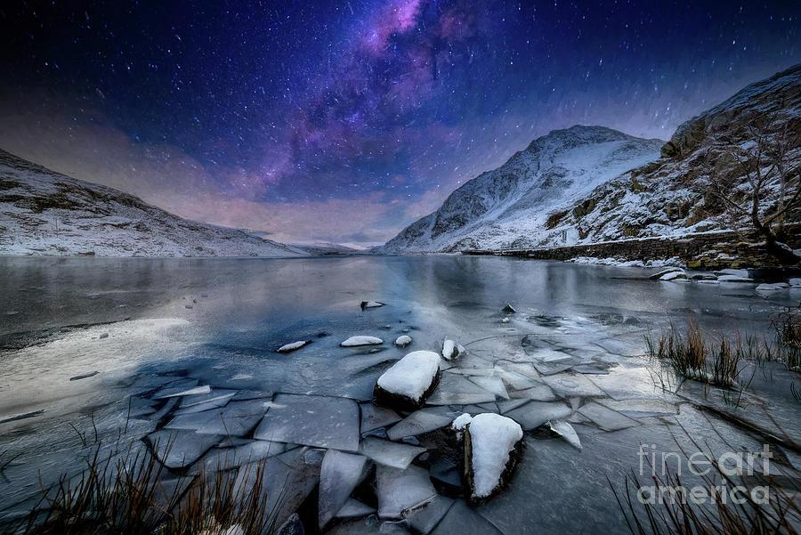 Ogwen Lake Snowdonia Wales by Adrian Evans