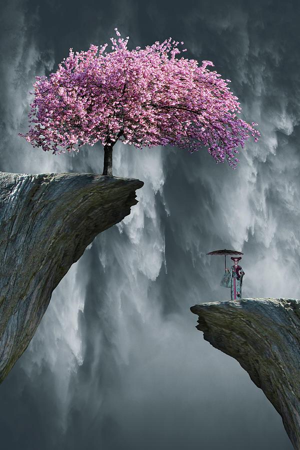 Oh Cherry Tree Digital Art