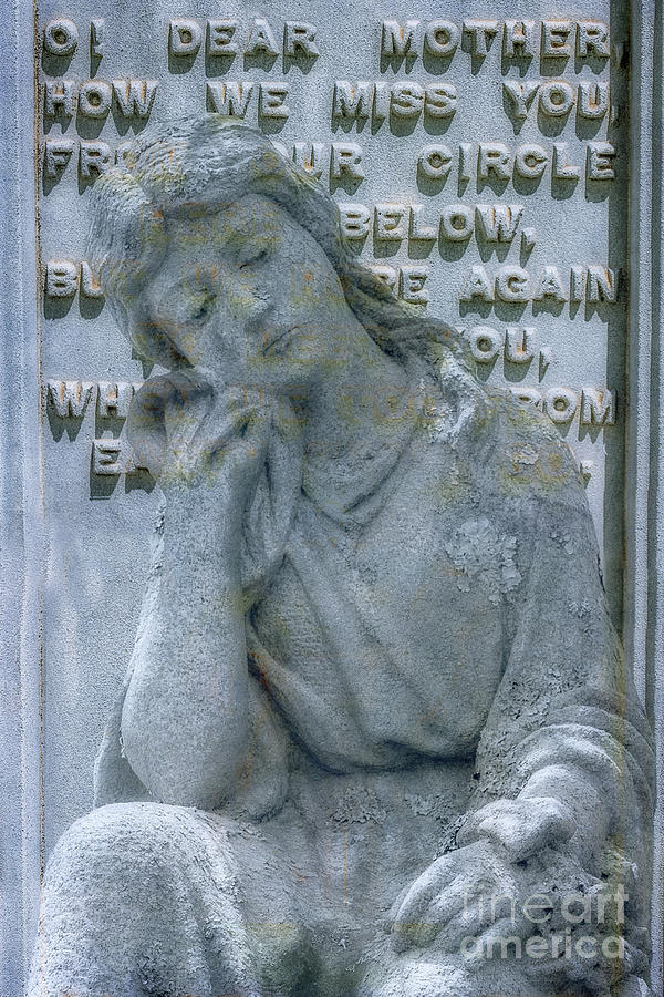 Oh Dear Mother Cemetery Monument Ver II Digital Art