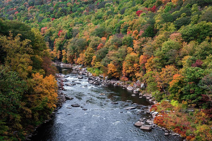 Ohiopyle Down River Photograph