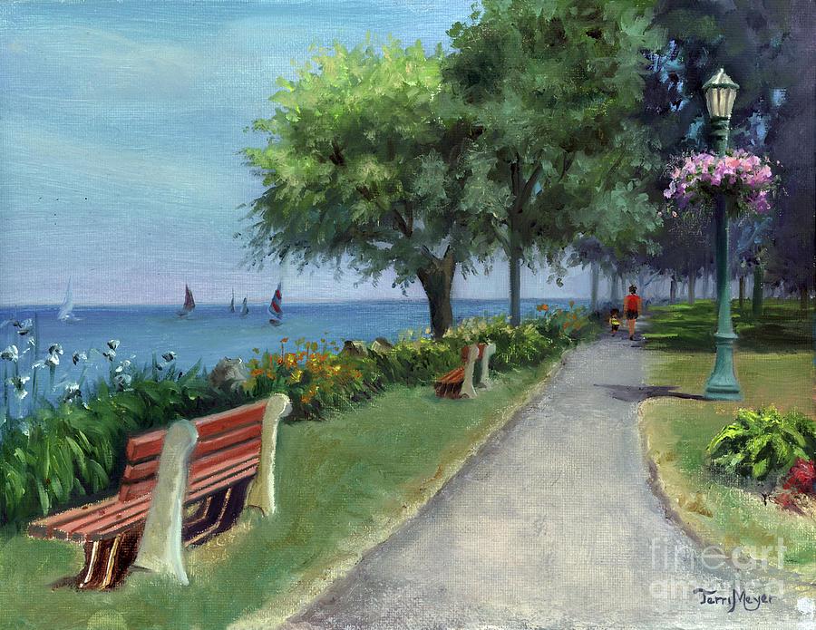 Ohios Most Beautiful Walk Painting