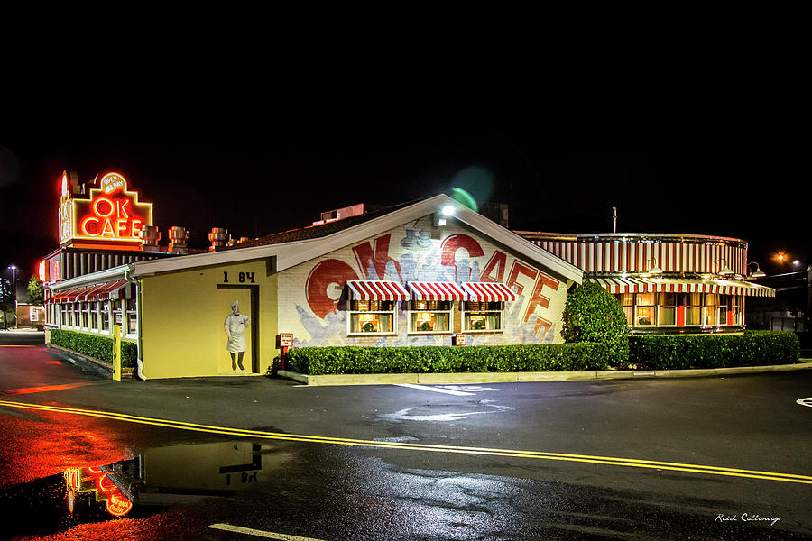 Ok Cafe Classic Eatery 3 Atlanta Buckhead Ga Architectural Art Photograph