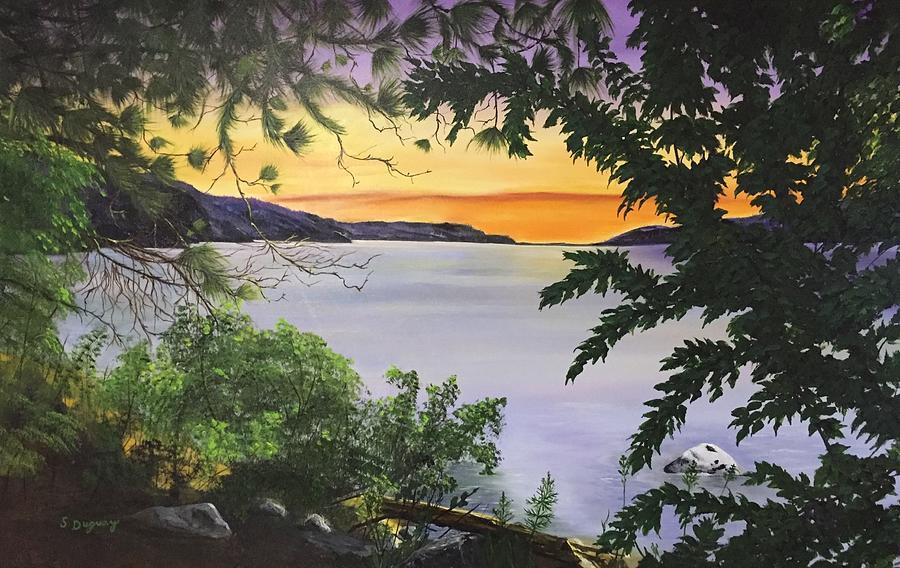 Okanagan Oasis Painting