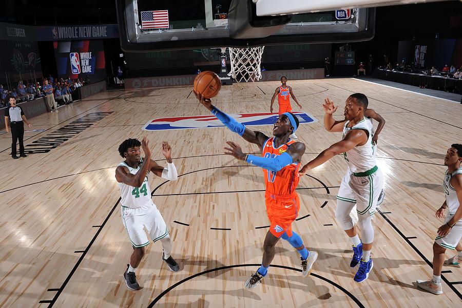 Oklahoma City Thunder v Boston Celtics Photograph by David Sherman