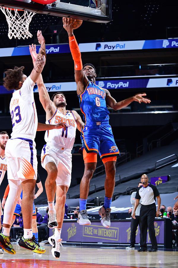 Oklahoma City Thunder v Phoenix Suns Photograph by Michael Gonzales