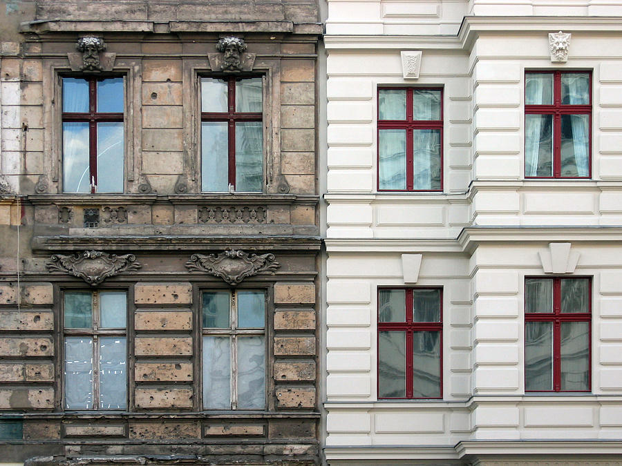 Old And New Photograph by Nikada