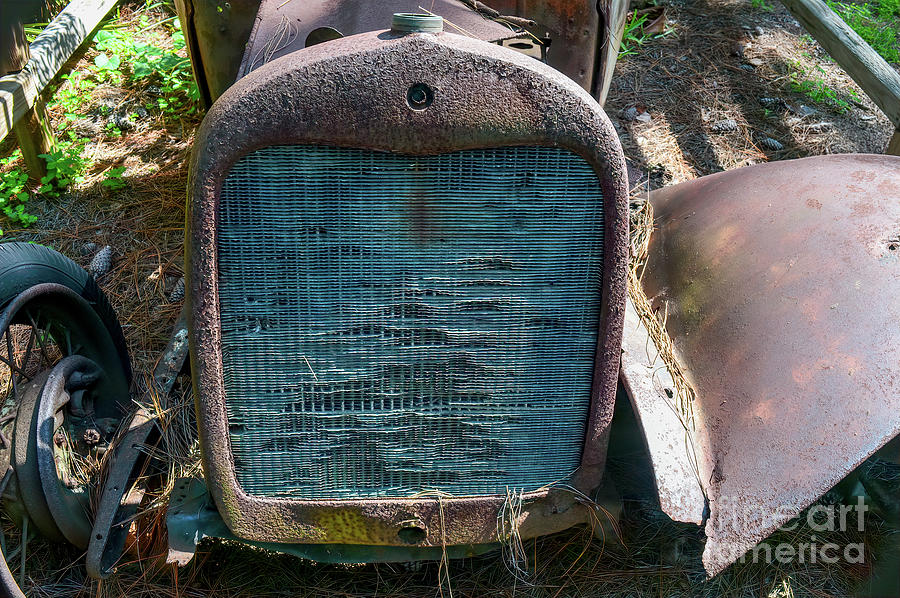 Old Blue Grill Photograph