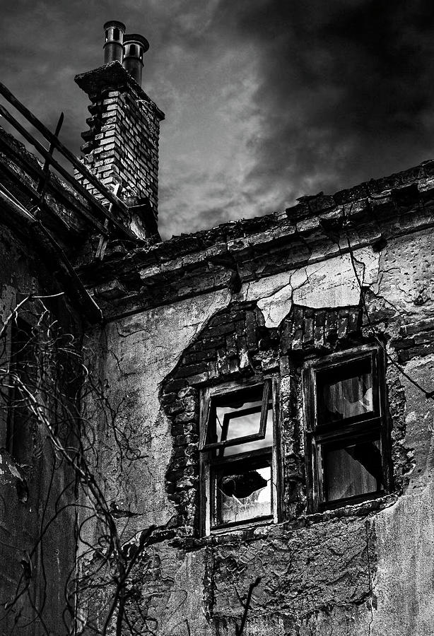Old building before the storm by Rostislav Bouda