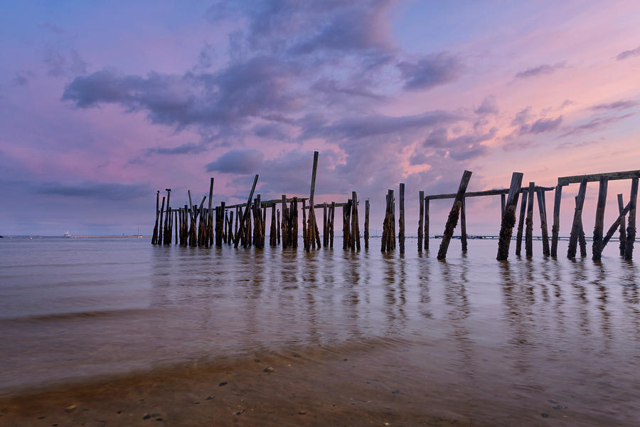 Old Cape Cod Pier by Bill Wakeley