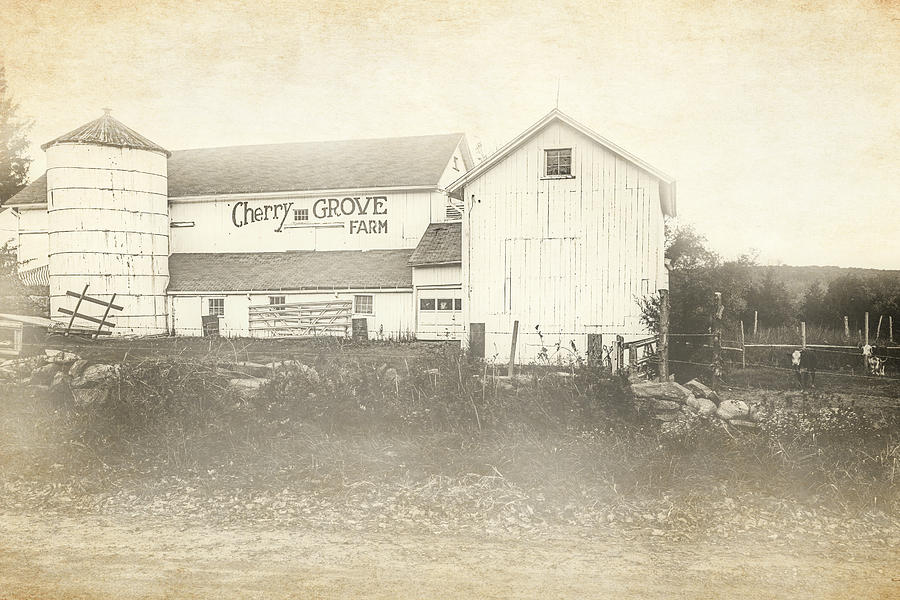 Old Cherry Grove Farm by Bill Wakeley