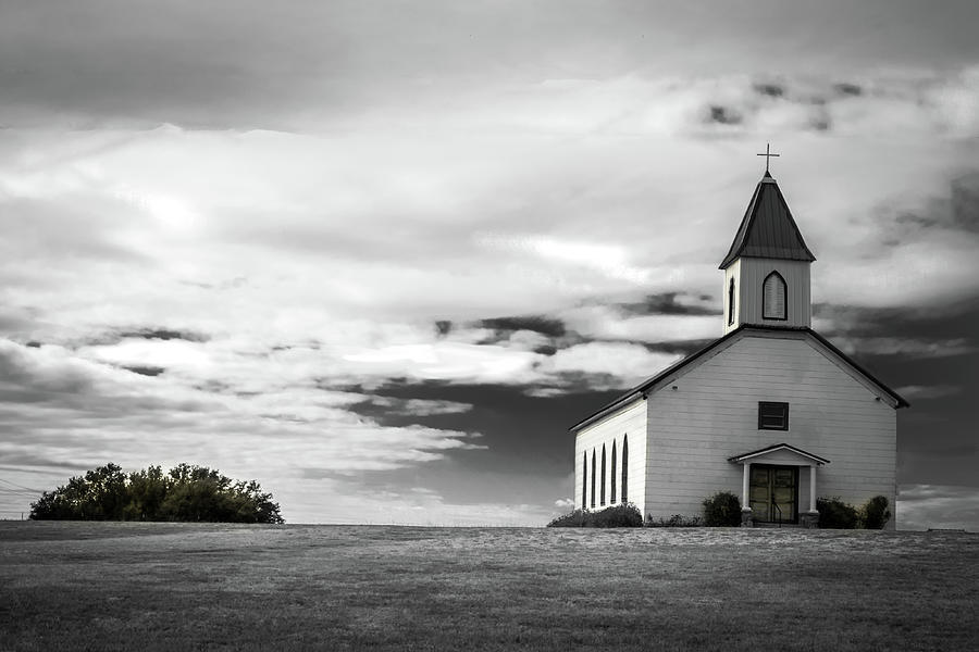 Church Photograph - Old Church by Peyton Vaughn