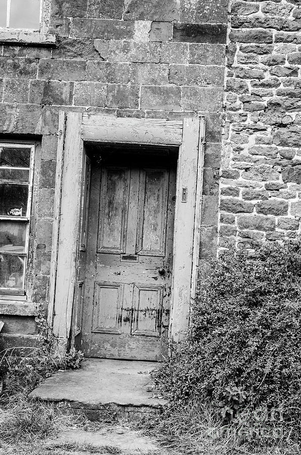 Old Cottage Door by Richard Jemmett