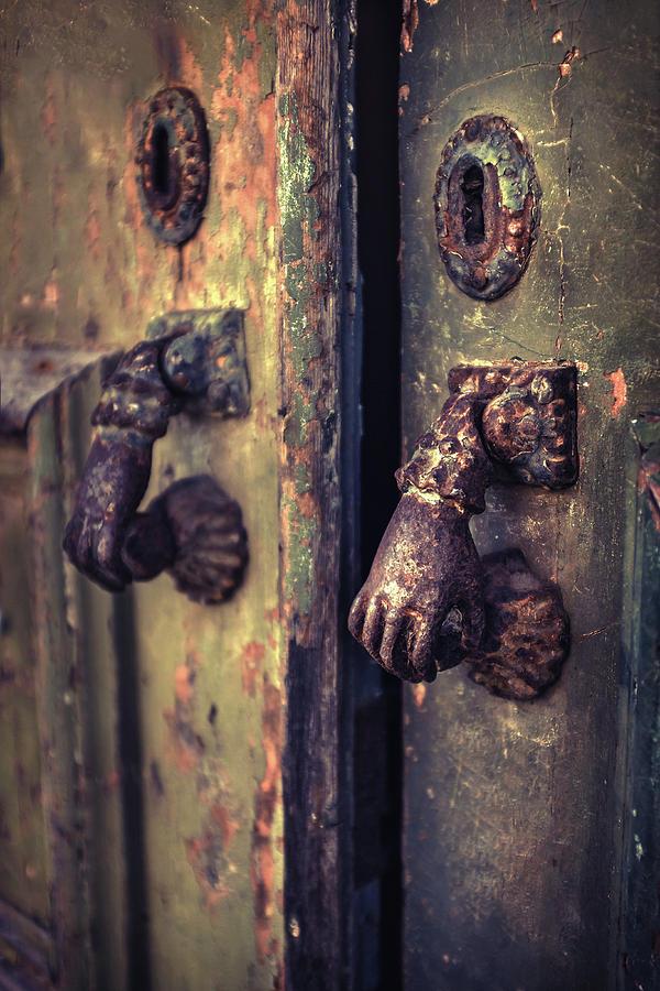 Old Door-knobs  by Carlos Caetano
