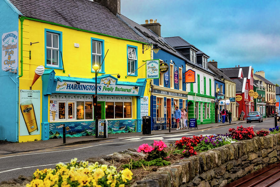 Old Irish Town The Dingle Peninsula in the Summer Photograph by Debra and Dave Vanderlaan