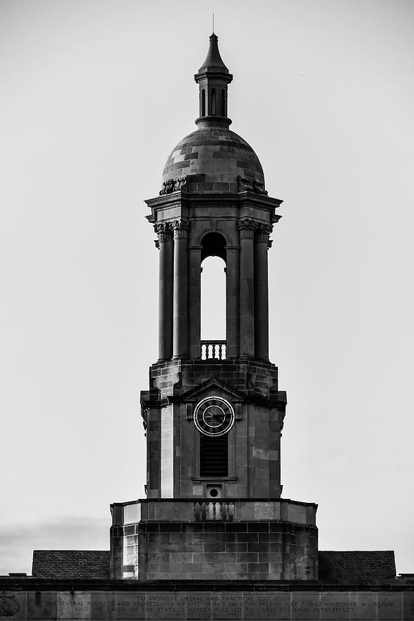 Old Main Tower Photograph