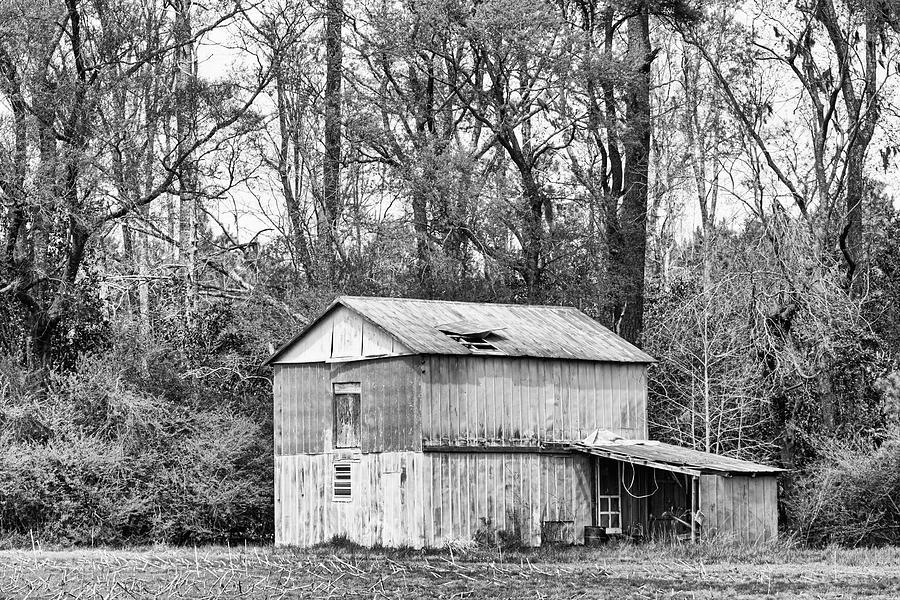 Old Metal Barn In Craven County North Carolina Photograph