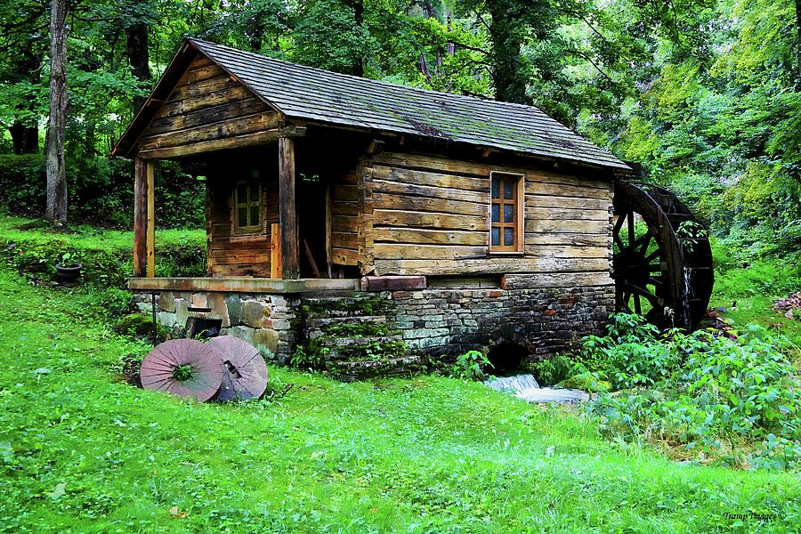 Old Mill at Reed Springs  by Wesley Nesbitt