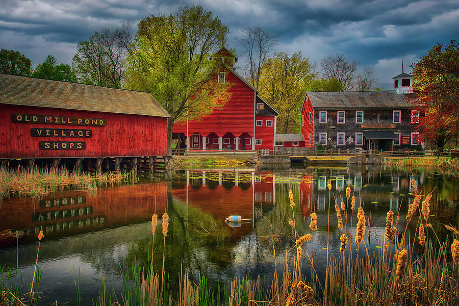 Old Mill Pond Village - Granby, Ct. Photograph