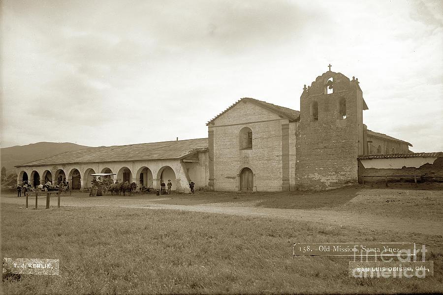 Old Mission Santa Ynez. Santa Barbara County California Establis by California Views Archives Mr Pat Hathaway Archives