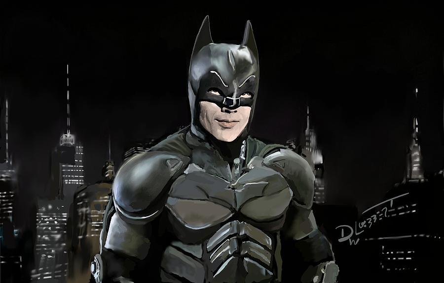 Old New Batman by David Luebbert