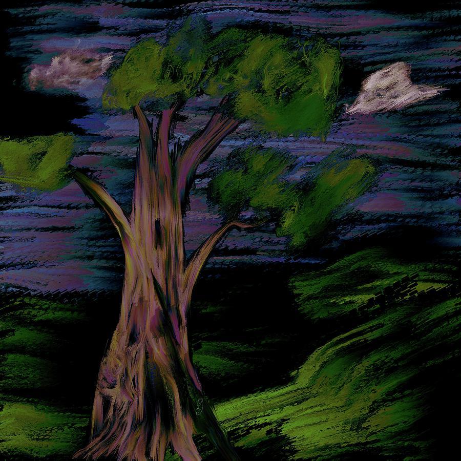 Old Oak #k9 Digital Art
