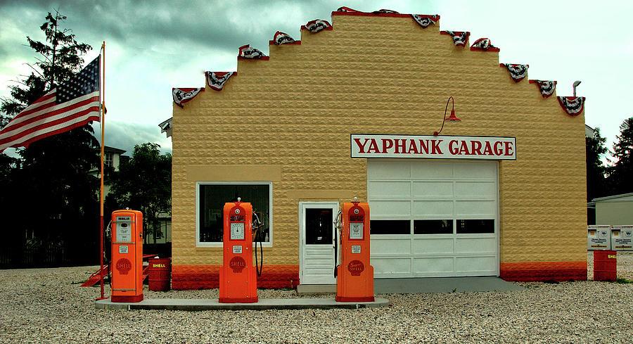 Yaphank Garage Photograph